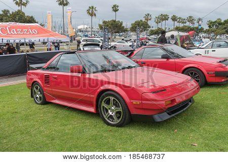 Toyota Mr2 1989 On Display