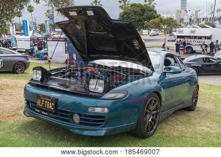 Toyota Celica 1992 On Display