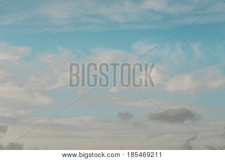 Abstract background of colorful sky Key West Florida
