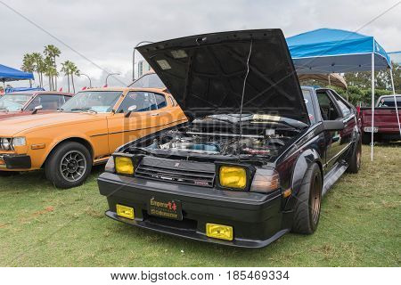 Toyota Celica 1983 On Display