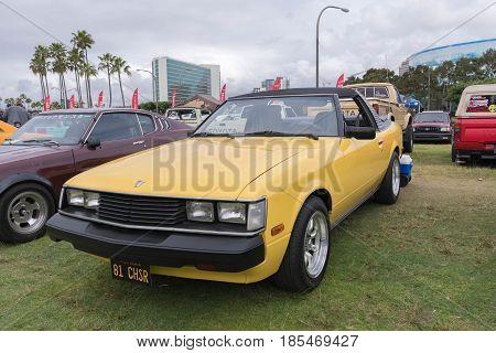 Toyota Celica 1981 On Display