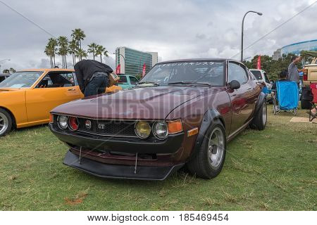 Toyota Celica 1977 On Display