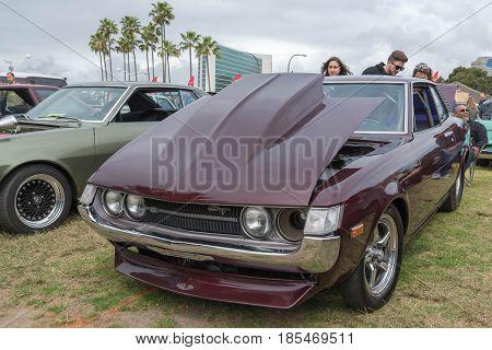 Toyota Celica 1971 On Display