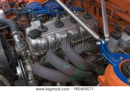 Toyota Corolla Engine 1980 On Display