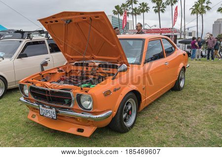 Toyota Corolla Sprinter 1972 On Display