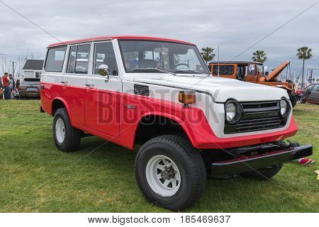 Toyota Land Cruiser 1977 On Display