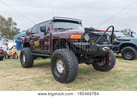 Toyota Fj Cruiser 2007 On Display