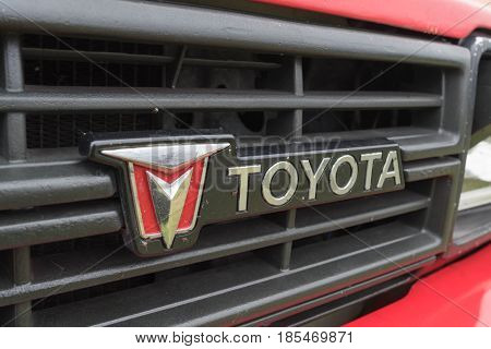 Toyota Truck 1991 Emblem On Display