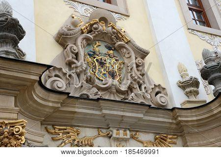 Presov, Slovakia, Coat of arms