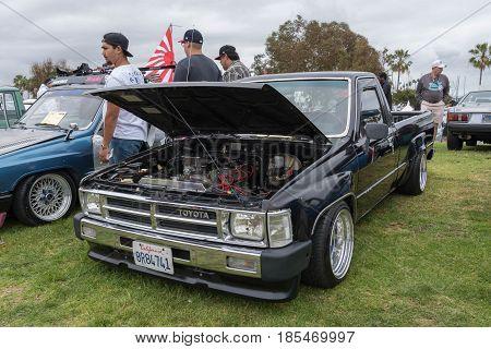 Toyota Hilux 1987 On Display