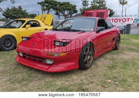 Toyota Mr2 On Display