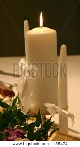 Candles For Wedding Ceremony.