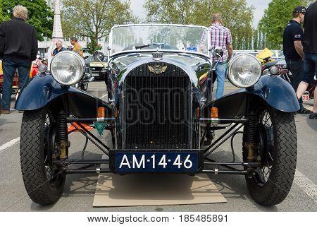 Berlin - May 11: Car Morgan, F-series Three-wheelers, 26Th Oldtimer-tage Berlin-brandenburg, May 11,