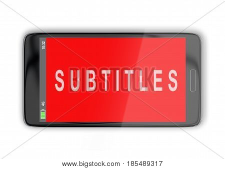 Subtitles - Media Concept