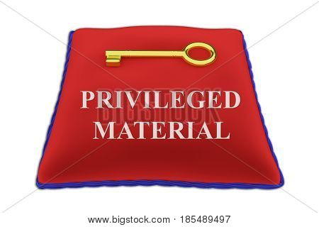 Privileged Material Concept
