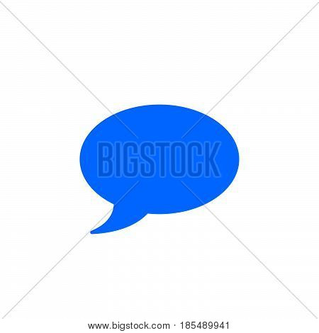 Comment Icon Vector, Speech Bubble Solid Logo Illustration, Colorful Pictogram Isolated On White
