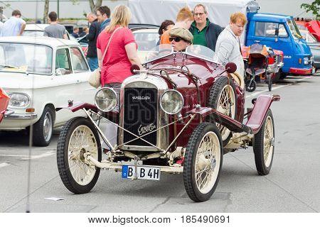 Berlin - May 11: French Retro Car Amilcar (ecurie Sidecar), 26Th Oldtimer-tage Berlin-brandenburg, M