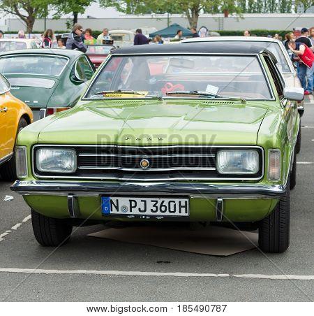 Berlin - May 11: Car Ford Taunus Tc Coupe, 26Th Oldtimer-tage Berlin-brandenburg, May 11, 2013 Berli