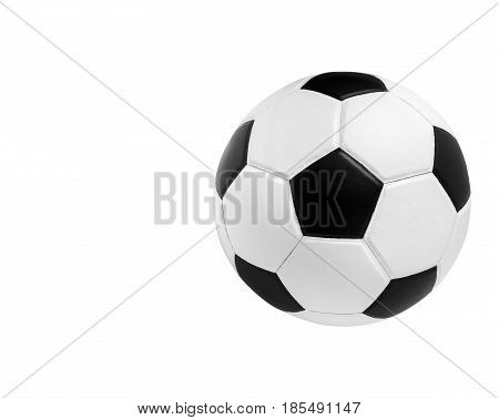soccer ball closeup image. soccer ball on isolated. black and white color soccer ball. soccer ball on white. beautiful soccer ball. clean soccer ball. single soccer ball. classic soccer ball.