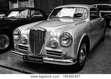 Berlin - May 11: Car Class Grand Tourer Lancia Aurelia Gt B20S (black And White), 26Th Oldtimer-tage