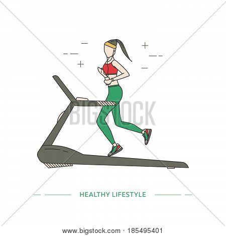 Healthy Lifestyle Design Concept.