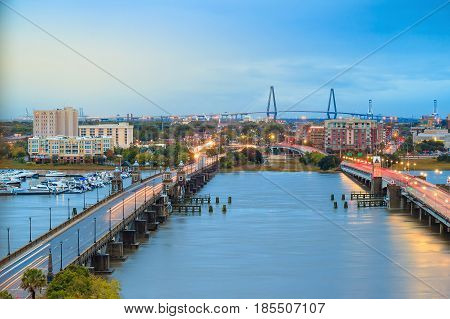 Skyline Of Charleston