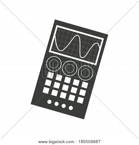 measuring device laboratory reseach image vector illustration