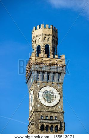 Bromo Seltzer Tower In Downtown Baltimore