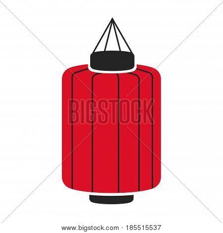 japanese lantern decoration festive culture vector illustration