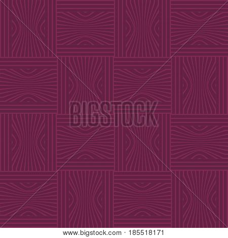 Monochrome tile in purple design, seamless checkered low contrasting dark background, vector EPS 10