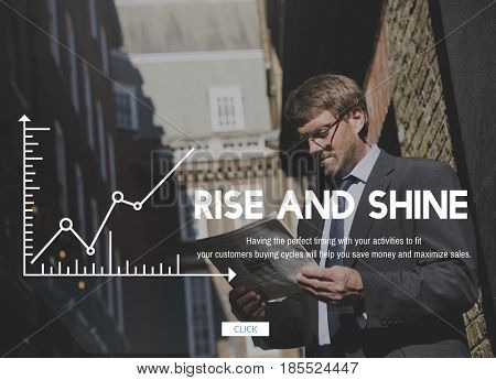 Rise Shine Achievement Goals Progress Success