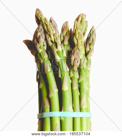 Asparagus Vegetable, Faded Vintage Look