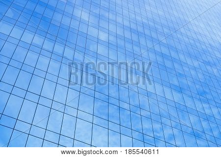 Architecture details Modern Building Glass facade background