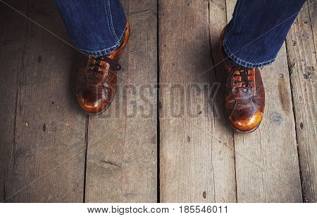 Interesting Brown Shoes