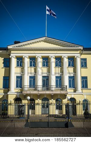Office of the president of Finland in the capital Helsinki