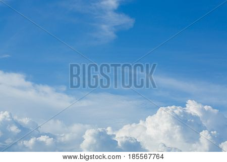 Cloud Above Sky Cloudy Background