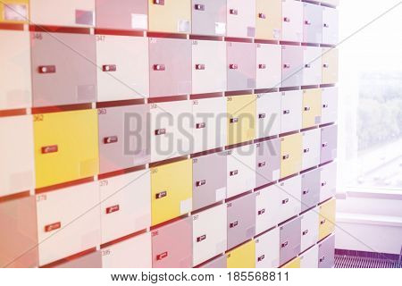 Closed lockers