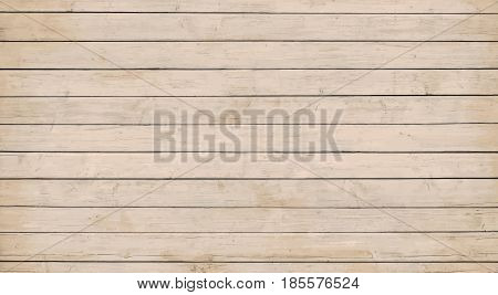 Brown wooden wall, table, floor surface. Light vector wood texture