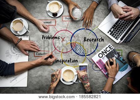 Problems Research Inspiration Vision Diagram
