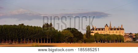 France, The Renaissance Castle Of Cadillac In Gironde