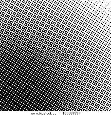 Halftone dots background.Vector halftone texture Abstract black and white dotted background