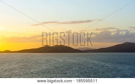 Sunset Noumea Bay