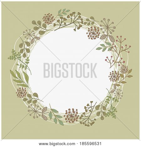 Mother's Day Wreath Card