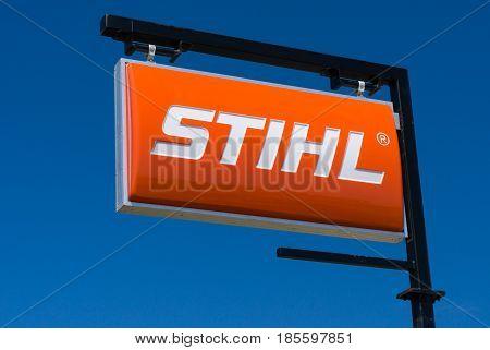 Stihl Dealership Sign And Logo