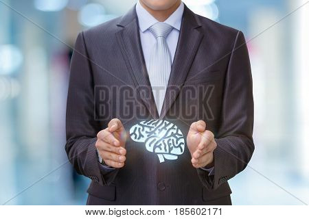 Brains In The Hands Of The Businessman.