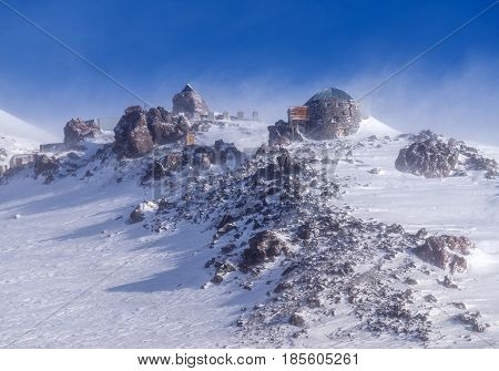 Landscape Of Mountains On North Caucasus