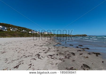 May 8th, 2017, Clonakilty Harbour - view of the Inchydoney beach located in West Cork, Ireland.