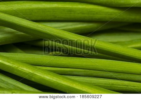 Close Up Fresh Young Onion,bunch Of Fresh Shallots,fresh Chives, Fresh Young Onion,green Onions Feat