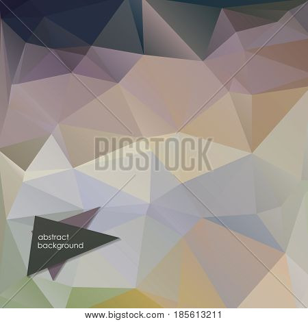 Greyscale triangular abstract background design pattern vector