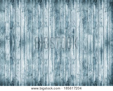 blue wood texture and background. wood texture background. Rustic old wooden background. Aged wood planks texture pattern. Wooden surface. Vertical image.